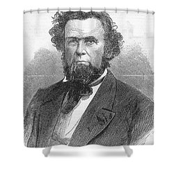 Francis H. Pierpont (1814-1899) Shower Curtain by Granger