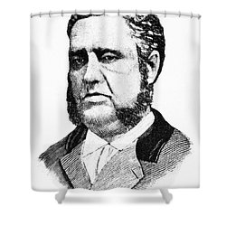 Francis Louis Cardozo (1836-1907) Shower Curtain by Granger