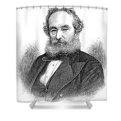 Francis Pettit Smith Shower Curtain by Granger