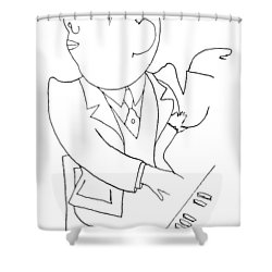 Francis Poulenc (1899-1963) Shower Curtain by Granger