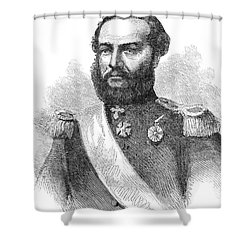 Francisco Solano Lopez Shower Curtain by Granger
