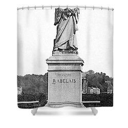 Francois Rabelais Shower Curtain by Granger