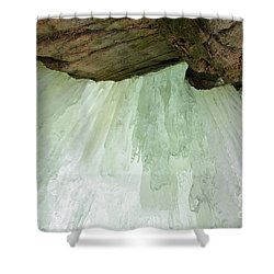 Franconia Notch State Park White Mountains Nh - Flume Gorge Shower Curtain by Erin Paul Donovan