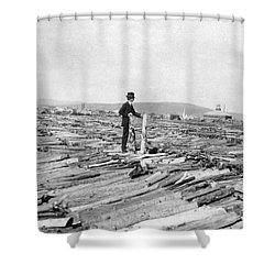 Frank G. Carpenter (1855-1924) Shower Curtain by Granger