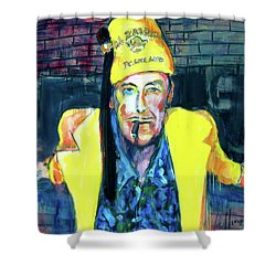 Frankie Delboo  Shower Curtain