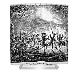 Franklin At Carlisle, 1753 Shower Curtain by Granger
