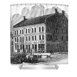 Franklin Pierce Shower Curtain by Granger