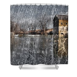 Shower Curtain featuring the photograph Fredonia Mill by Brian Duram