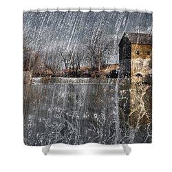 Fredonia Mill Shower Curtain by Brian Duram