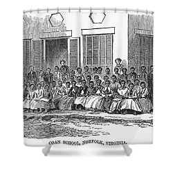 Freedmens School, 1868 Shower Curtain by Granger