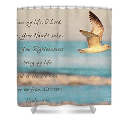 Freedom Flight Shower Curtain by Constance Woods
