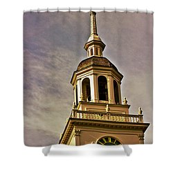 Freedom Rings Shower Curtain by Tom Gari Gallery-Three-Photography