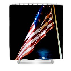 Flag On Federal Hill Shower Curtain
