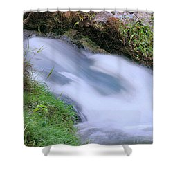 Freely Flowing Shower Curtain by Kristin Elmquist