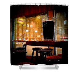 Friday Night Beer Shower Curtain