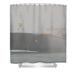 Frieghter Close Up Shower Curtain