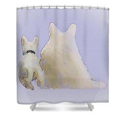 Friendship Shower Curtain by Ron Jones