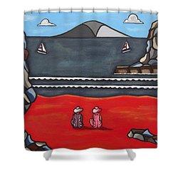 Friendship Shower Curtain by Sandra Marie Adams