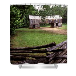 From Days Gone By Shower Curtain by Paul W Faust -  Impressions of Light