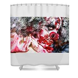 Shower Curtain featuring the photograph Frozen Tremors by Stwayne Keubrick