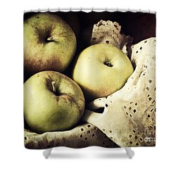 Fuji Apples Shower Curtain