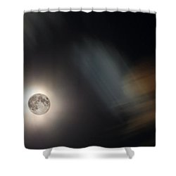 Full Moon II Shower Curtain by Jeff Galbraith