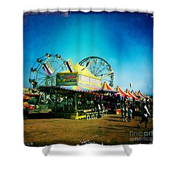 Fun At The Fair Shower Curtain by Nina Prommer