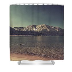 Fun At The Lake Shower Curtain by Laurie Search
