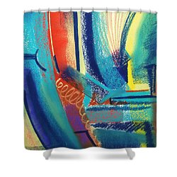 FUN Shower Curtain by Marie-Claire Dole