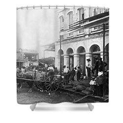 Galveston Flood - September - 1900 Shower Curtain by International  Images