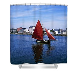 Galway, Co Galway, Ireland Galway Shower Curtain by The Irish Image Collection