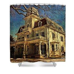 Gambrill Mansion Shower Curtain by Lianne Schneider