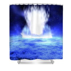 Gamma Ray Burst Erupts From Star Shower Curtain by NASA / Science Source