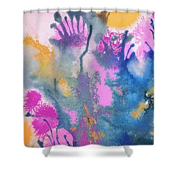 Garden Fantastico Shower Curtain by Renate Nadi Wesley