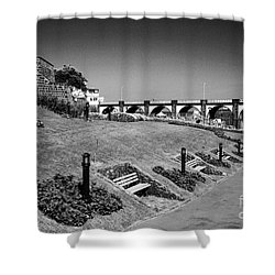 Garden In Ribeira Grande Shower Curtain by Gaspar Avila