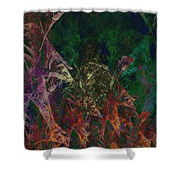 Garden Of Color Shower Curtain by Christopher Gaston