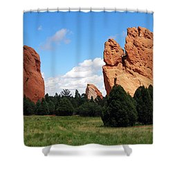 Shower Curtain featuring the photograph Garden Of The Gods by David Pantuso