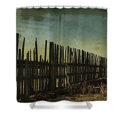 Garden Of Thirst  Shower Curtain by Empty Wall