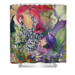 Garden Party Shower Curtain by Claudia Smaletz
