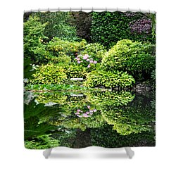 Garden Tapestry 2 Shower Curtain