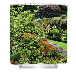 Garden Tapestry 3 Shower Curtain