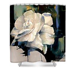 Gardenia Shower Curtain