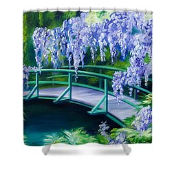 Gardens Of Givernia II Shower Curtain by James Christopher Hill