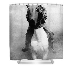 Gas Masks Shower Curtain by Science Source