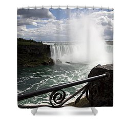 Gateway To Beauty Shower Curtain by Amanda Barcon