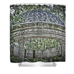 Gazebo At Longwood Gardens Shower Curtain