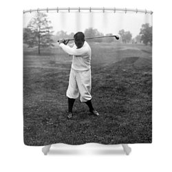 Shower Curtain featuring the photograph Gene Sarazen - Professional Golfer by International  Images