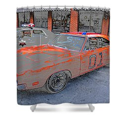 General Lee One Shower Curtain by David Lee Thompson