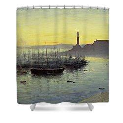 Genoa Shower Curtain by John MacWhirter