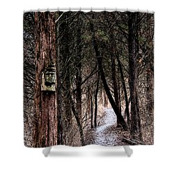 Gently Into The Forest My Friend Shower Curtain